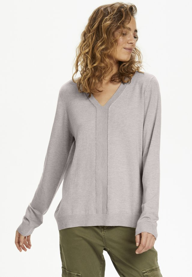 CUANNEMARIE  - Pullover - sand melange