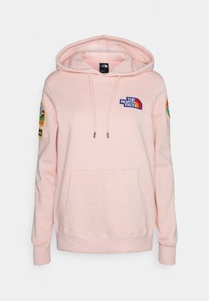 NOVELTY PATCH HOODIE  - Felpa - light pink