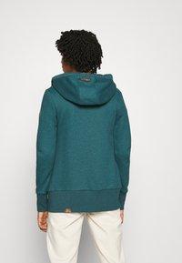 Ragwear - NESKA ZIP - Zip-up hoodie - petrol - 2