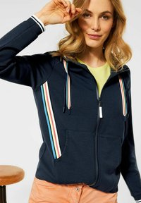 Cecil - Zip-up sweatshirt - blau - 1