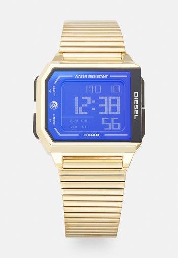 CHOPPED UNISEX - Digitaal horloge - gold-coloured