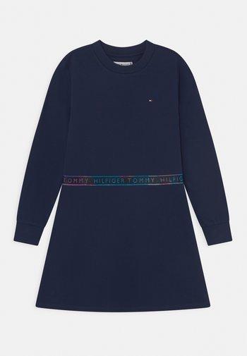 TAPE - Jersey dress - twilight navy