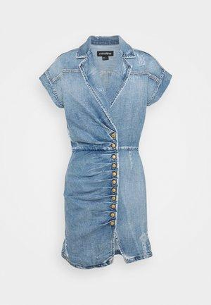 GIA DRESS - Spijkerjurk - blue jay