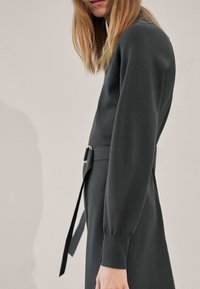 Massimo Dutti - Jumper dress - Dark Grey - 2