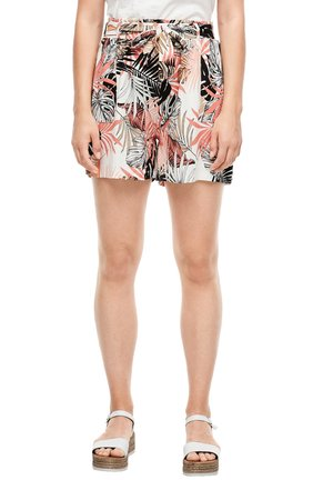Shorts - offwhite floral print