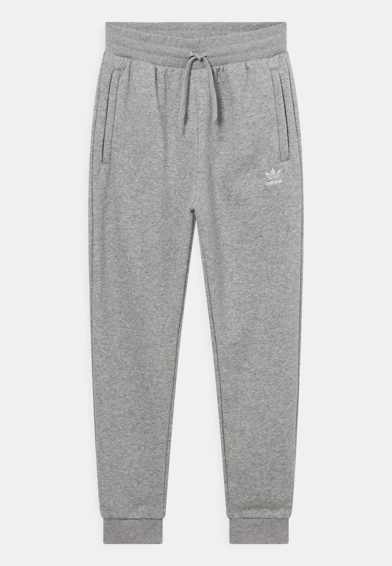 adidas Originals - UNISEX - Tracksuit bottoms - medium grey heather/white