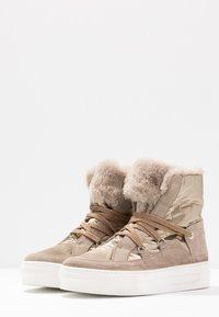 Tosca Blu - ADELE - Platform ankle boots - beige - 4