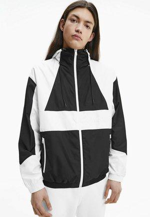 Training jacket - bright white/black