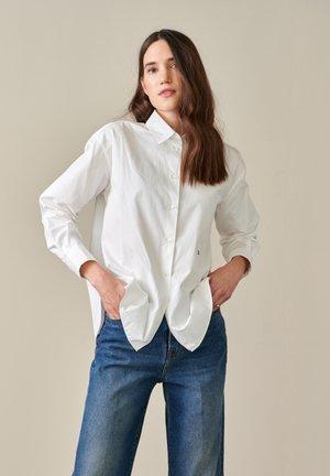 GASTO - Button-down blouse - weiß
