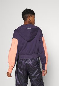 Nike Sportswear - HOODIE - Sweatshirt - dark raisin/crimson bliss/bright mango - 2