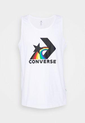 PRIDE TANK UNISEX - Top - white