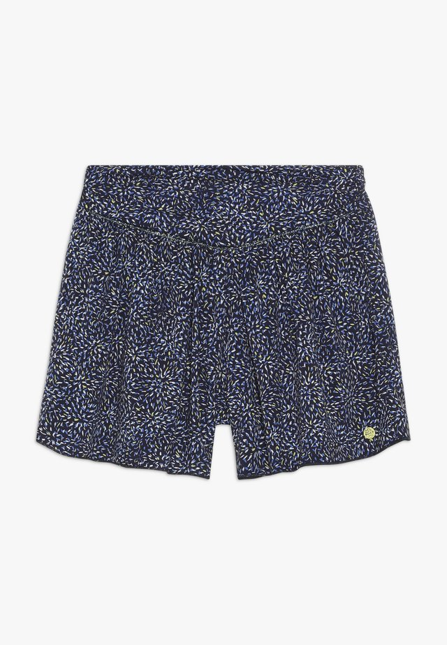 FLJUIDSKIRT PRITNED - Shorts - blue night