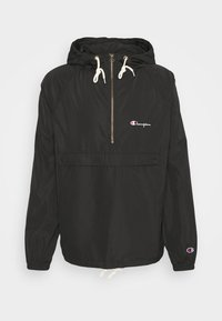 Champion Reverse Weave - HOODED JACKET - Větrovka - black - 4