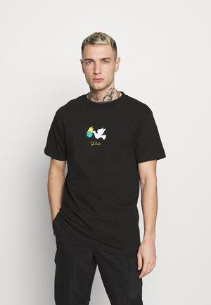HEALER TEE - Print T-shirt - black