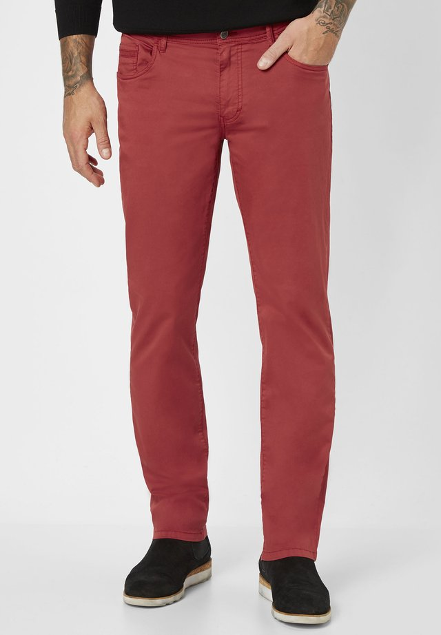 MILTON  - Trousers - dark red
