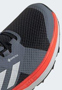adidas Performance - TERREX TWO GORE-TEX TRAIL RUNNING SHOES - Laufschuh Trail - black - 7
