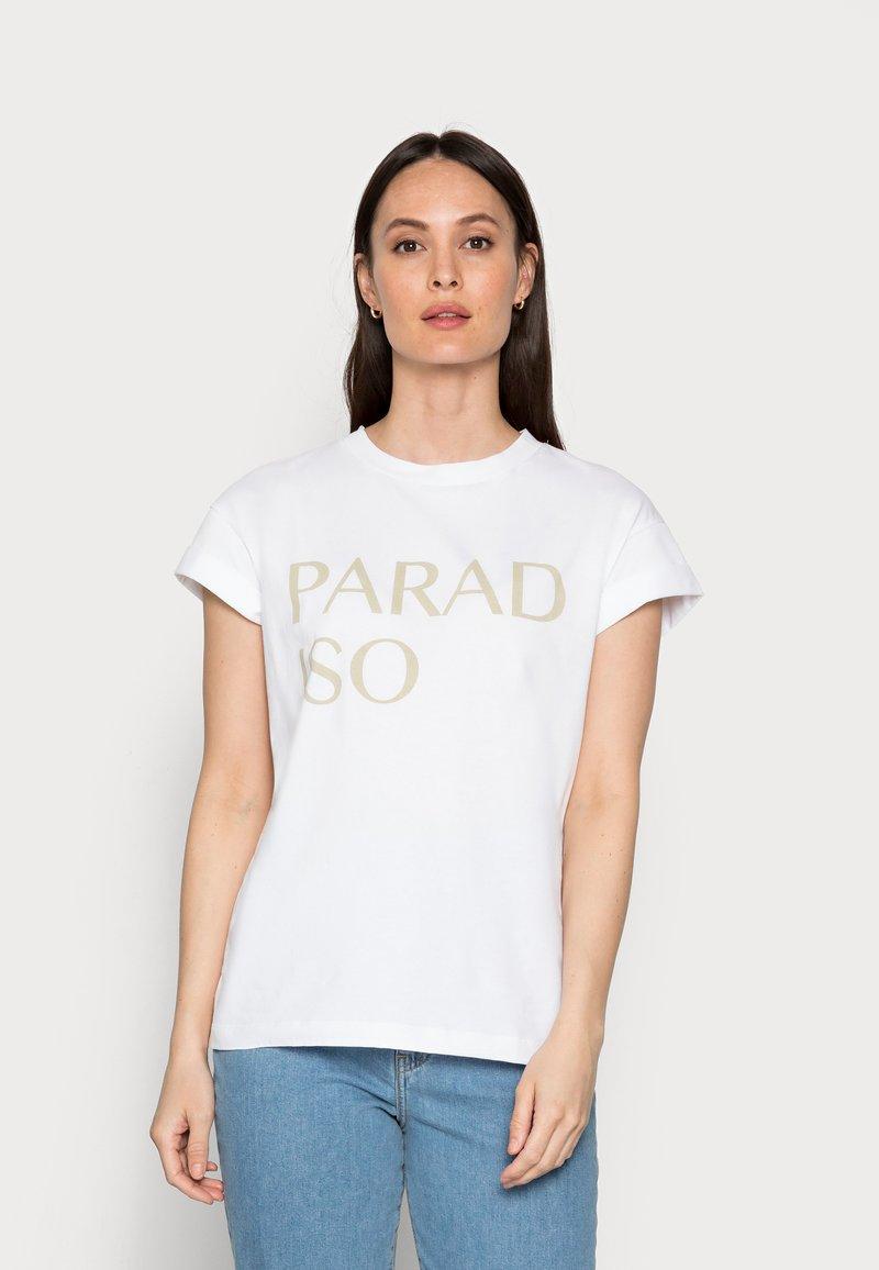 Rich & Royal - PARADISO - Print T-shirt - olive tree