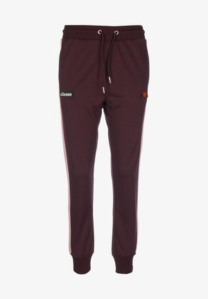 AGNES - Tracksuit bottoms - dark purple