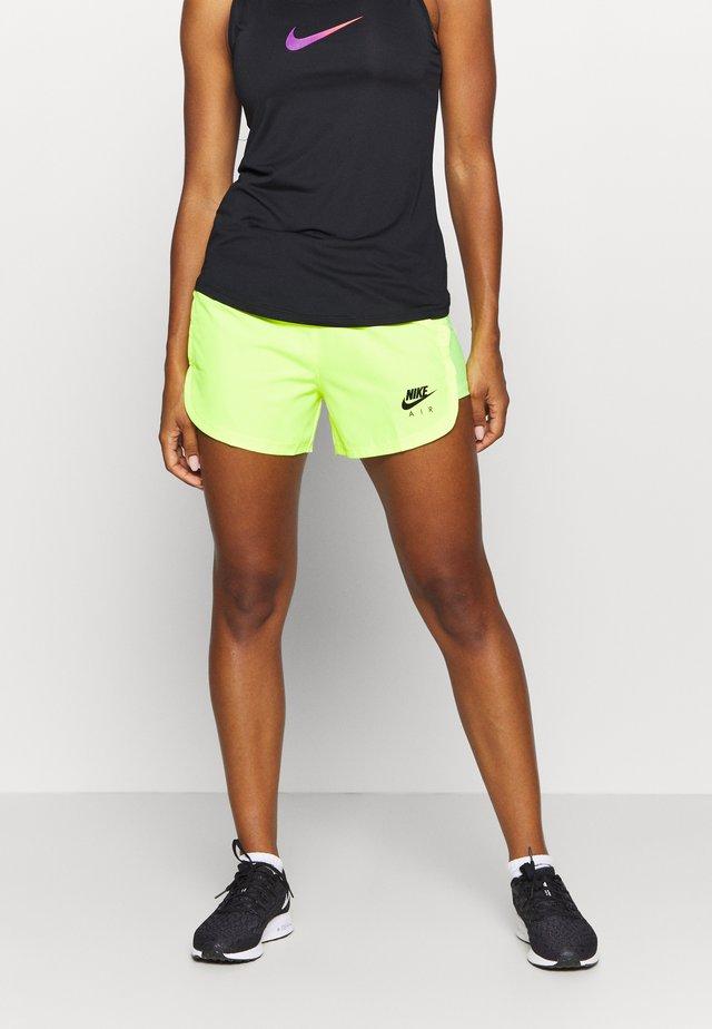 AIR SHORT - Pantalón corto de deporte - volt/volt/black