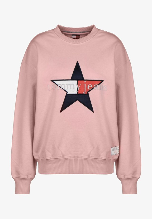 STAR - Sweatshirt - candy pink