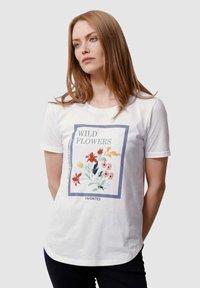 Laura Kent - Print T-shirt - off-white - 0