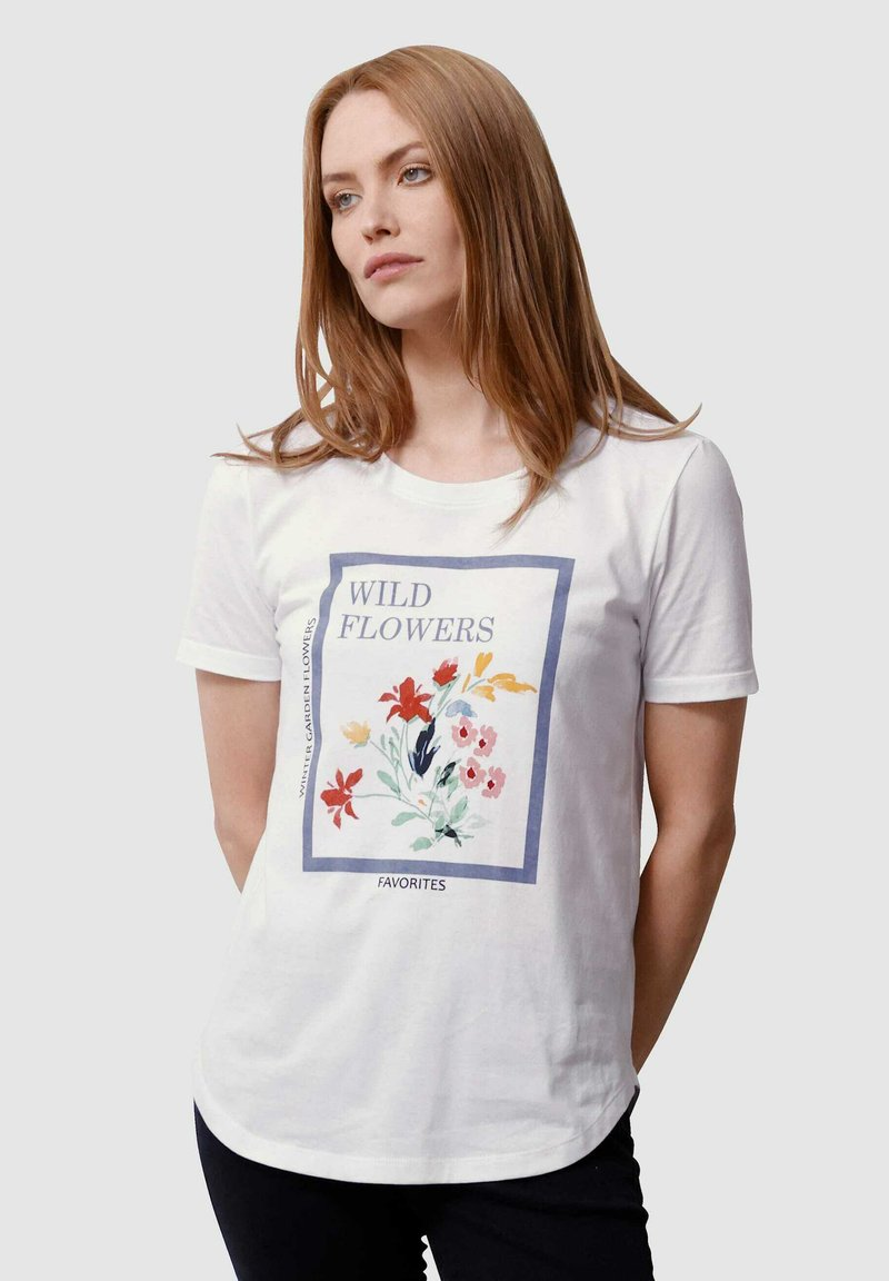 Laura Kent - Print T-shirt - off-white