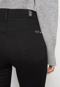 7 for all mankind - THE LUXURIOUS - Jean droit - schwarz - 4