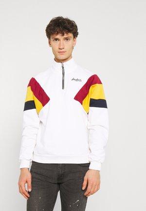 CREW DERECK CRUDO UNISEX - Sweatshirt - white