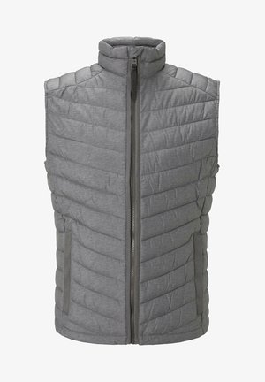 Waistcoat - middle grey mélange
