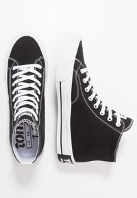 Tommy Jeans - CLASSIC MID - Sneakers high - black - 1