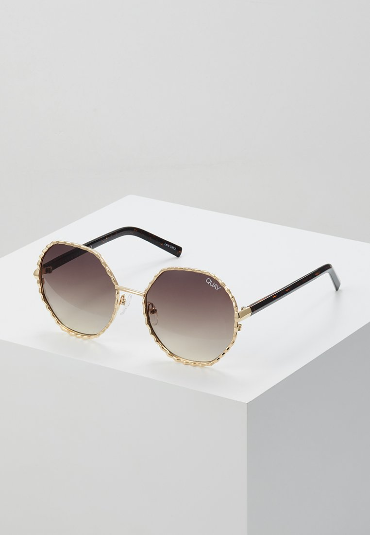 QUAY AUSTRALIA - BREEZE IN - Sonnenbrille - gold-coloured/brown