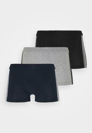 3PACK Shorts Organic Cotton Softbund - 95/5 Stretch - Pants - dark blue/grey/black