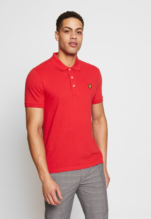 SLIM FIT - Polo - gala red