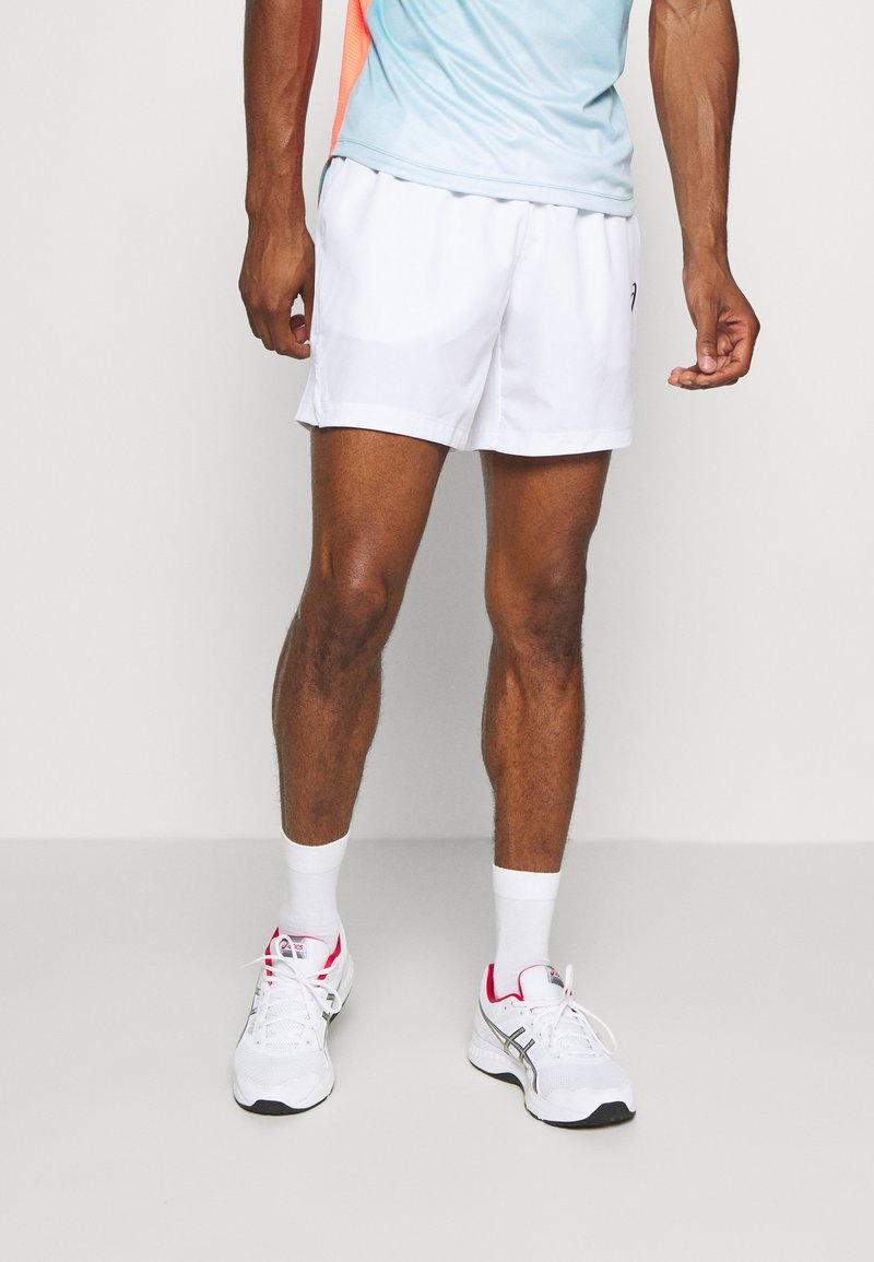 ASICS - CLUB SHORT - Pantalón corto de deporte - brilliant white