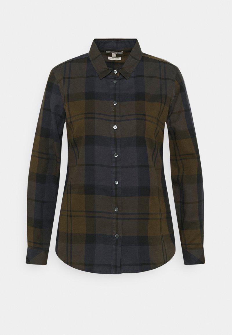 Barbour - BREDON - Button-down blouse - hawthorn