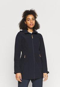 Icepeak - VIAMAO - Soft shell jacket - dark blue/black melange - 0