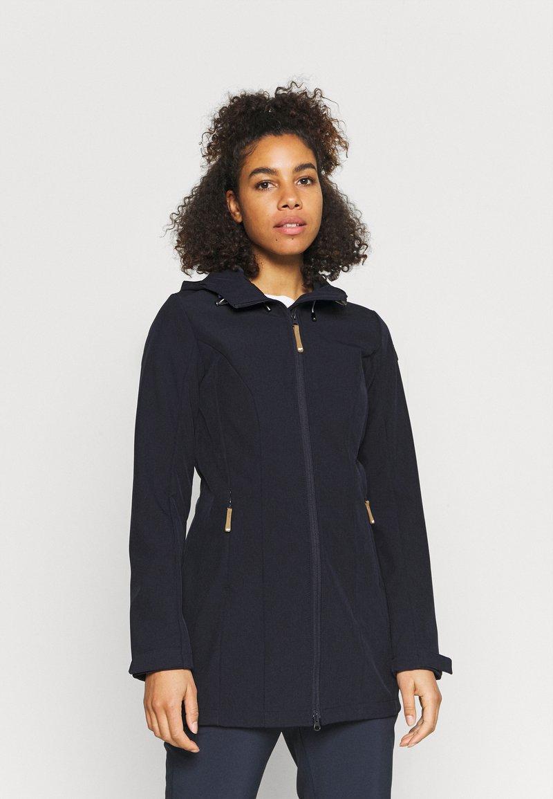 Icepeak - VIAMAO - Soft shell jacket - dark blue/black melange