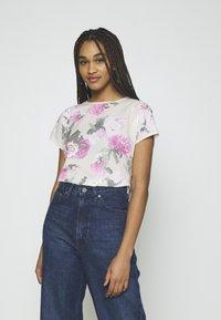 b.young - BYPANYA  - Print T-shirt - fuchsia pink mix - 0