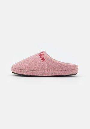 Domácí obuv - pink flower
