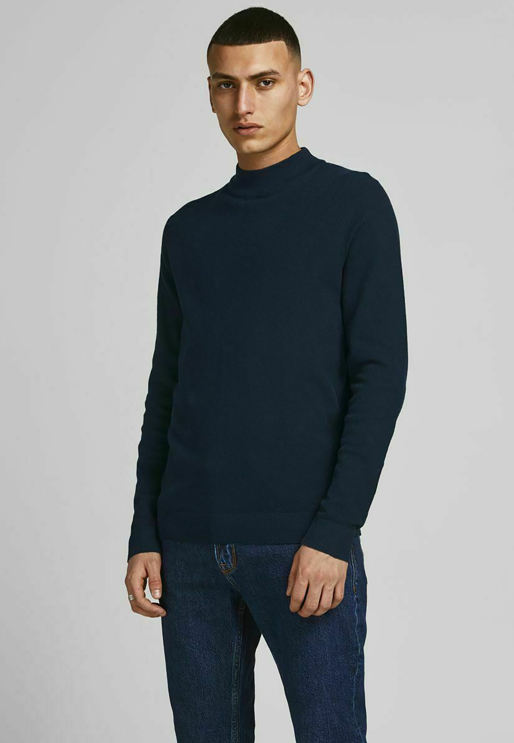 Homme JORCLAY MOCK NECK - Pullover