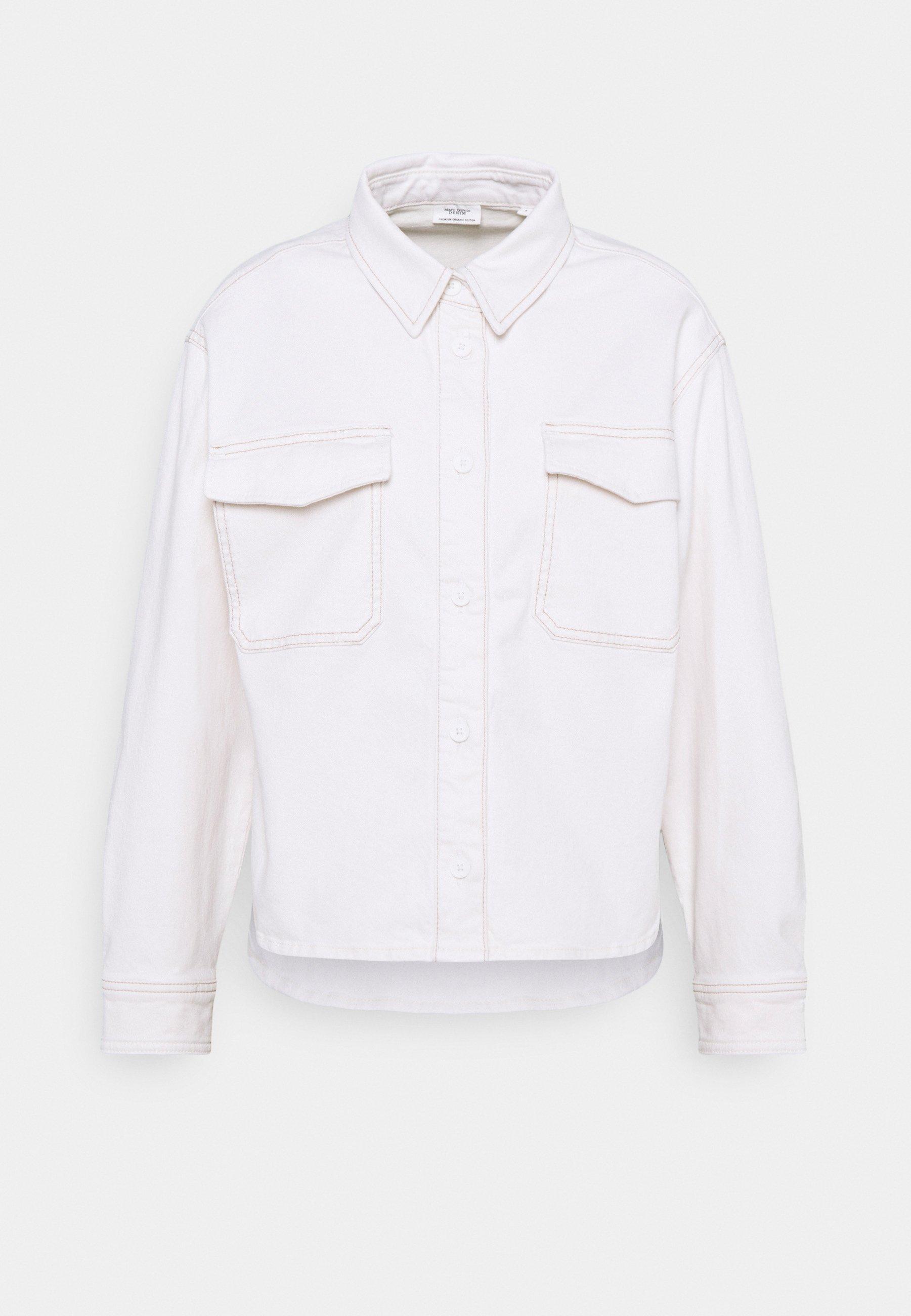 Women CROPPED LONGSLEEVE - Button-down blouse