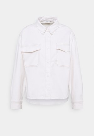 CROPPED LONGSLEEVE - Skjorte - multi/off-white cotton