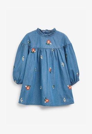 Day dress - blue denim