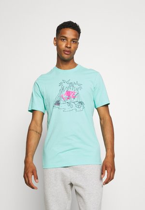 TEE FUTURA TREE - Print T-shirt - tropical twist