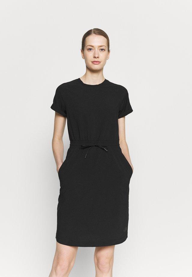 NEVER STOP WEARING DRESS - Sportklänning - black