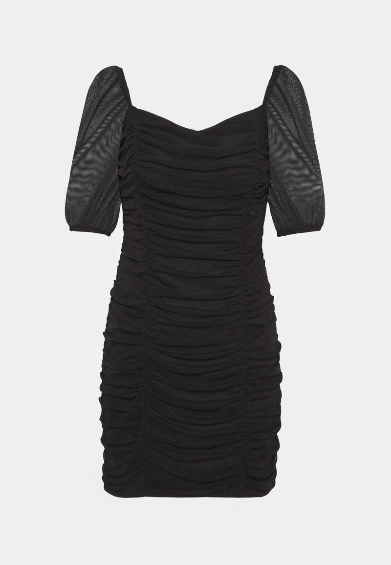 Miss Selfridge - PUFF SLEEVE DRESS - Cocktail dress / Party dress - black