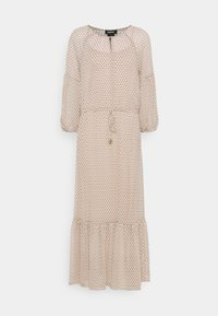 DKNY - PEASANT DRESS - Vestito lungo - brown - 0