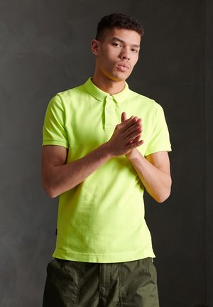 Polo shirt - hyper lime