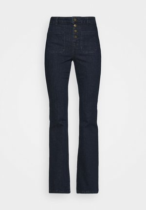 GANA - Flared Jeans - dark blue