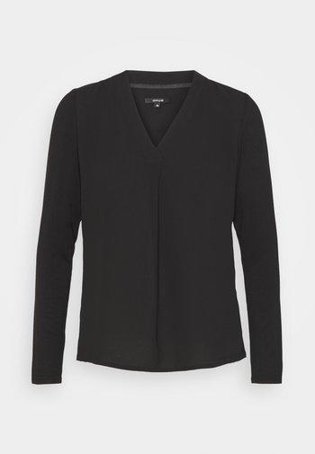 FIRKE - Long sleeved top - black